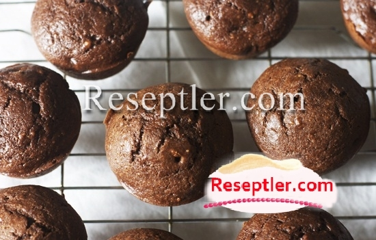 Şokoladlı Kəsmikli Maffinlər