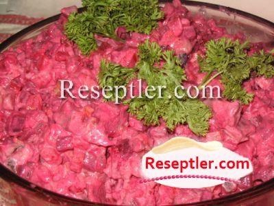 Çuğundur Salatı Resepti