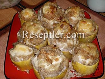 Kartoflu Qabaq Dolması Resepti