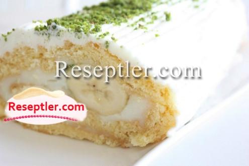 Bananlı Rulet Tortu