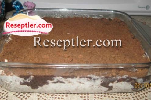 Bananlı Şokoladlı Asan Tort