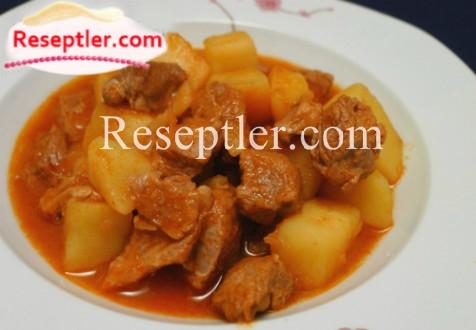 Kartoflu Qazan Kababı