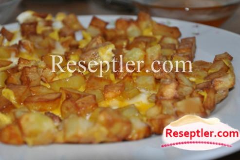 Yumurtalı Kartof Qızartması