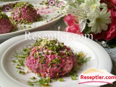 Qarışıq Rəngli  Salat