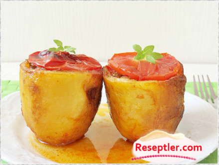 Qızardılmış Kartof Dolması